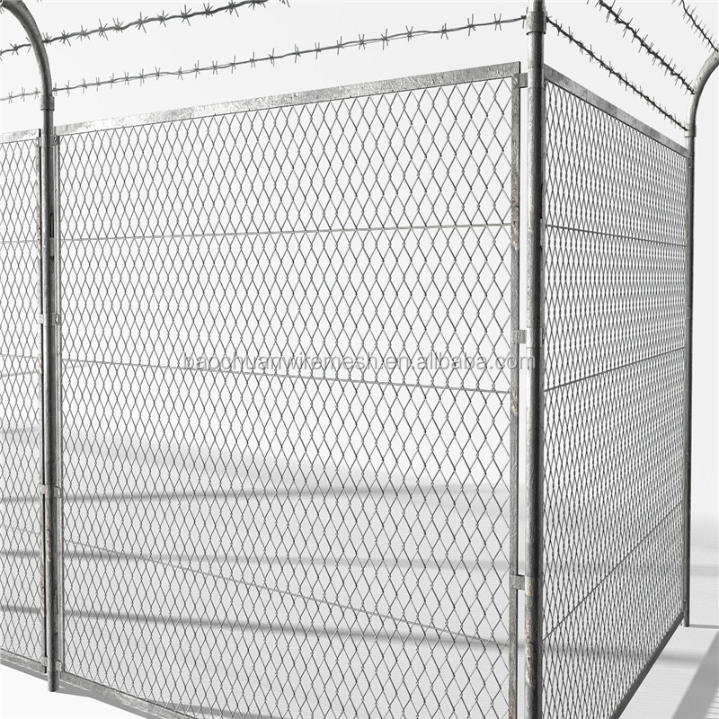 Hete verkoop chain link fence gemaakt in china/chain link fence fabricage