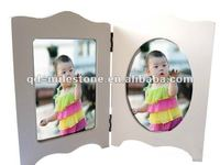 wood picture frames 12 months baby photo frame