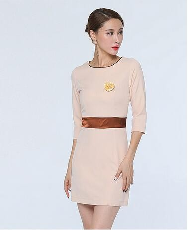 Design do vestido senhoras vestido de uniforme para sal o for Spa uniform bangkok