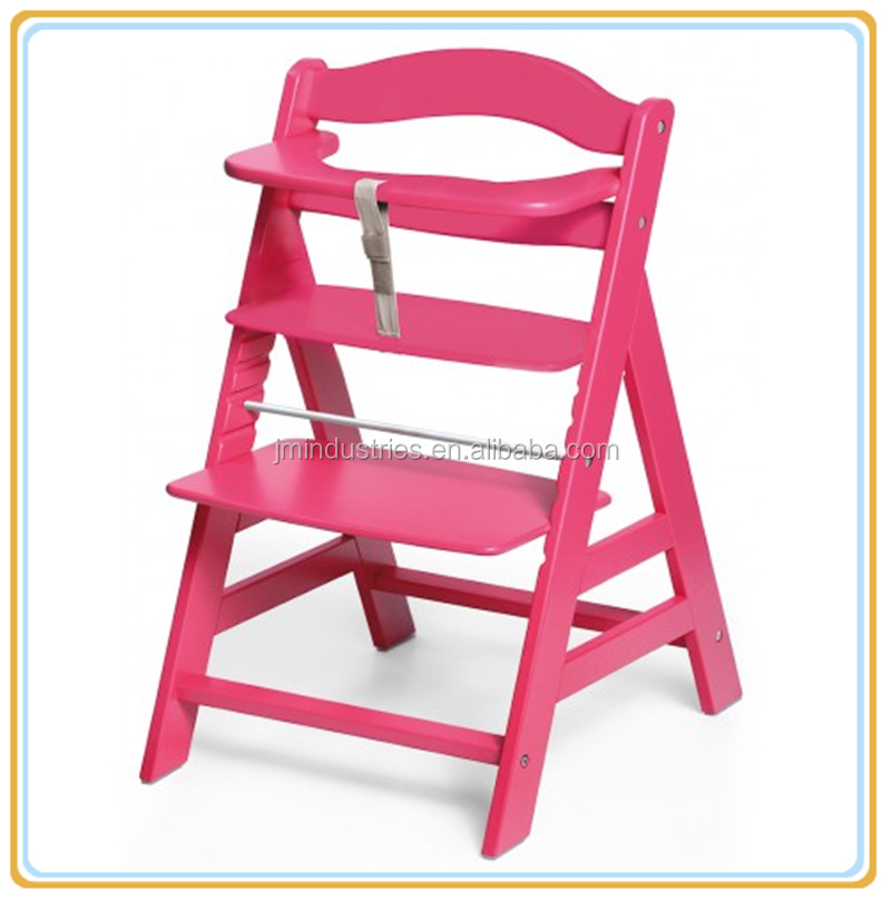 Antico seggiolone per bambini in legno bambino regolabile - Sedia bambini regolabile ...
