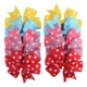 40 Pack Classic Dot Pattern Baby Hair Clips Bow for Girls Alligator Clips