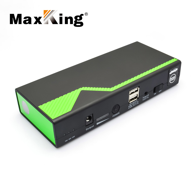 Newest 14000 mah mini portable multi function DC 12V emergency car rechargeable jump starter and alternator car battery