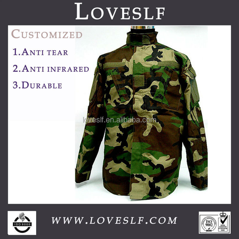 Loveslf custom camouflage military tactical used army uniforms