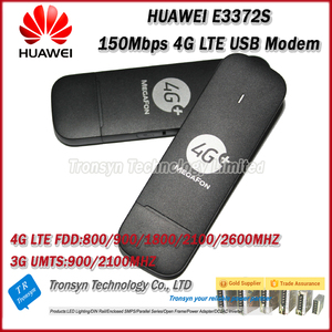 Original Unlock LTE FDD 150Mbps 4G LTE USB Dongle E3372 Support 800/900/1800/2100/2600Mhz