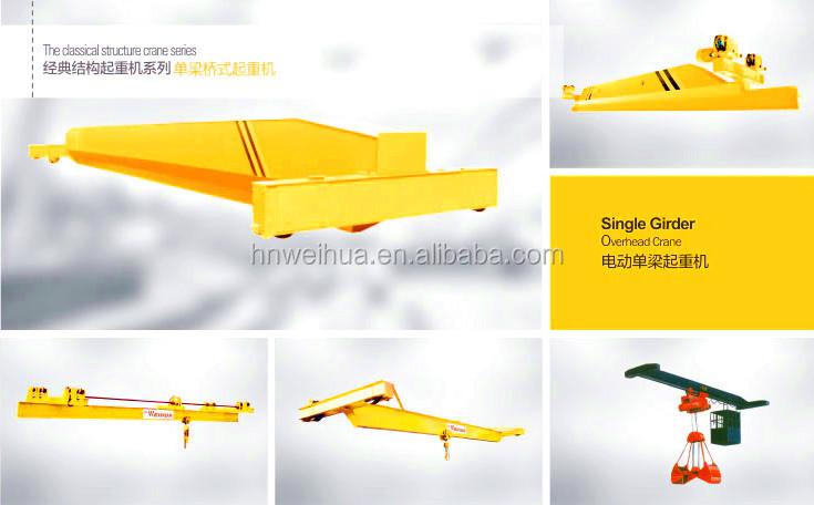 Overhead Crane 500kg : Single girder crane electrical hoist kg buy