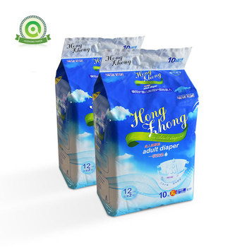Incontinence Disposable Adult Diapers Brief Maximum Absorbency and Adjustable Tabs for Men and Women