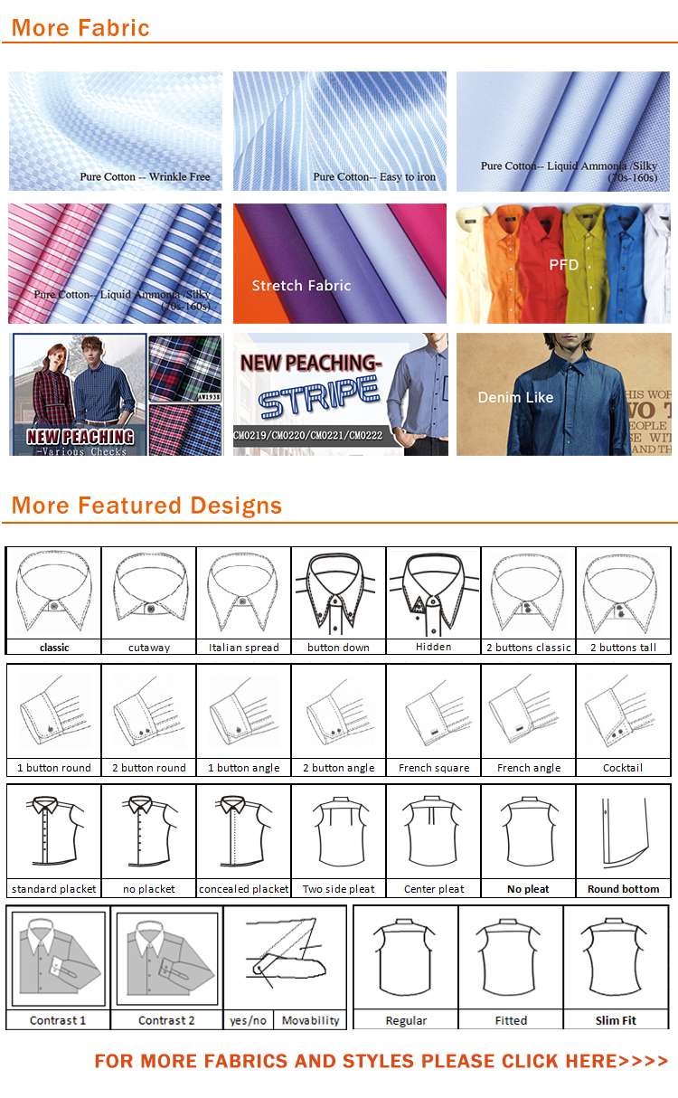 Custom High Quality Pin-Point Oxford White Dress Shirts For Men