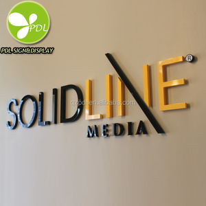 Flat Laser Cut 3D Acrylic Wall Letters For Indoor Use