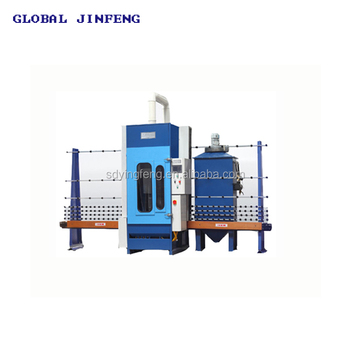 JFP-1600 PLC Ceramic glass automatic Sandblasting Machine sand blaster