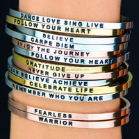 Engraved Cuff ,Personalized Name Bracelets,Custom Hand Stamped Bangles