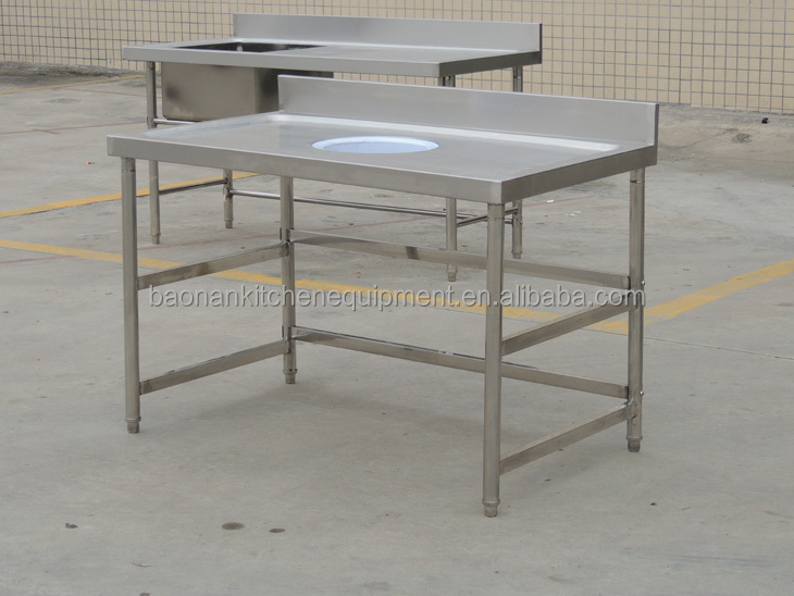 Restaurant Cleaning Equipment Stainless Steel Work Table