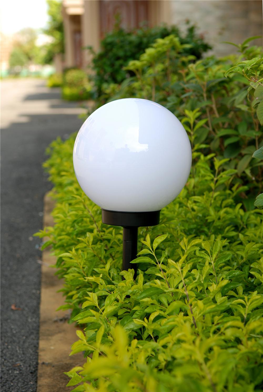 2016 nieuwe roud bal stijl kerstverlichting tuin gazon licht solar led gazon licht buy product - Outdoor licht tuin ...