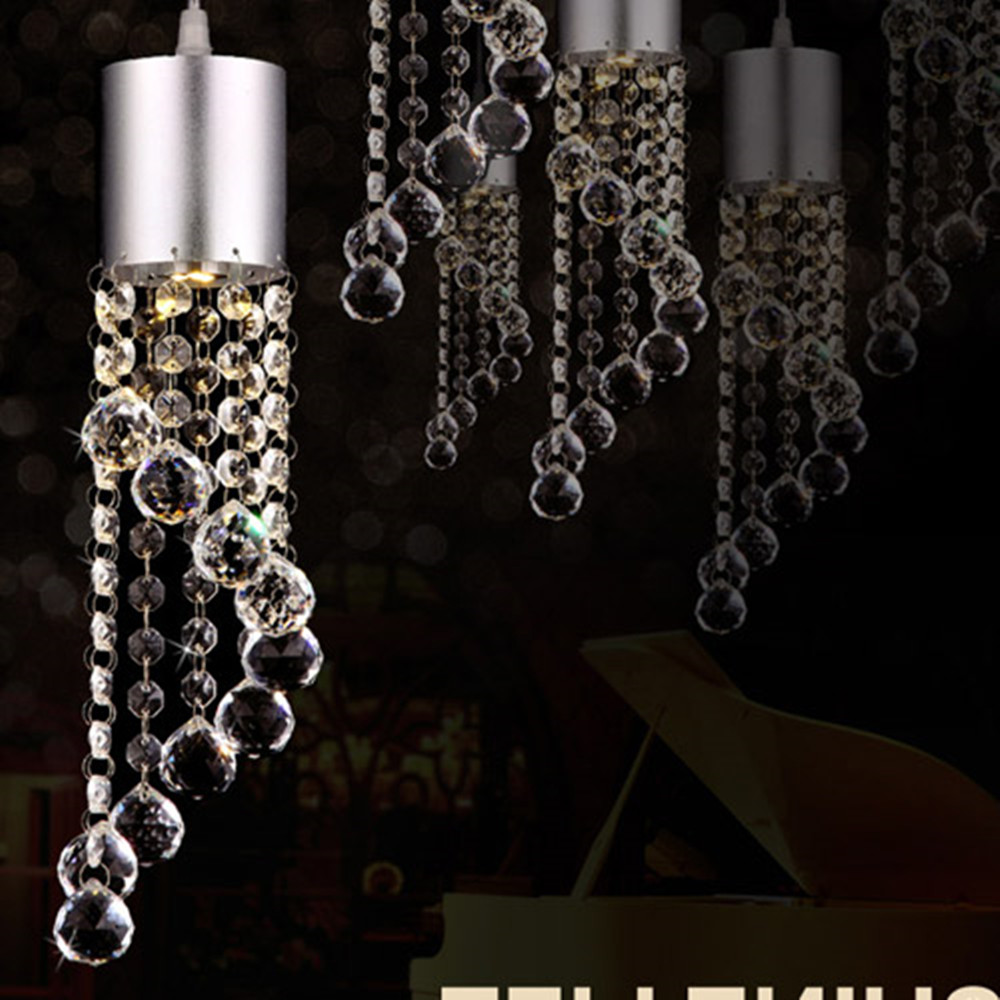 modern crystal chandelier lamp for the room