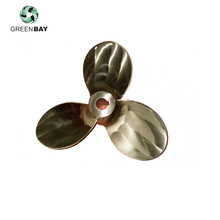 OEM Bronze 3 Blade Copper-made Marine Propeller And Propulsion For Vessel Ship