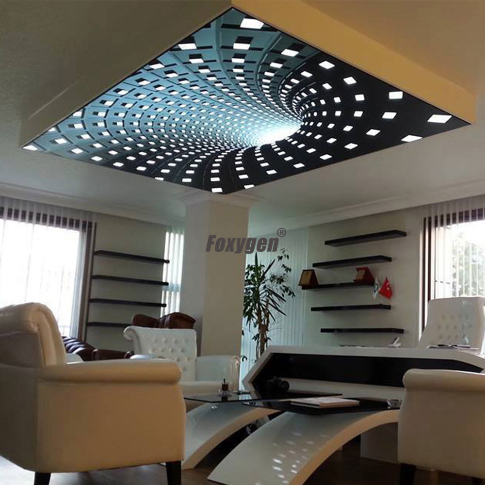 Factory Fireproof Printed Living Room Ceiling Decor New ...