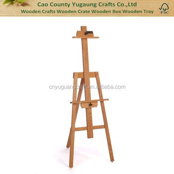 Fashion Large Studio Easel Stand Students Beech Wood Solid Pine Wooden  Studio Easel Wedding Easel Stand - Buy Wedding Easel Stand,Kids Wood