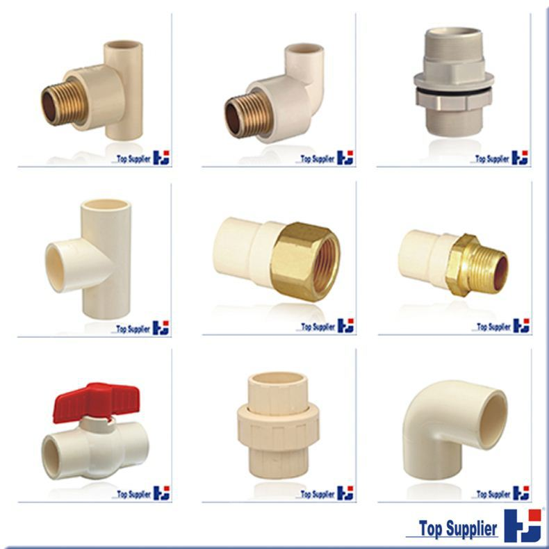 shower and popular plastic all size pipe fitting