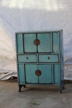 chino antiguo de madera recuperada muebles de cocina muebles de cocina muebles aparador chino azul