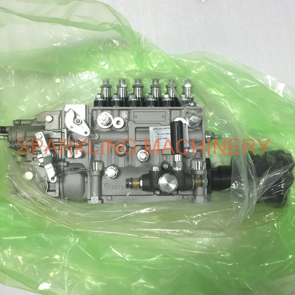 SPARKLING MACHINERY EXCAVATOR 65.11101-7356 400912-00346 FUEL PUMP