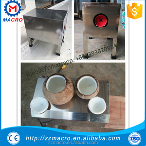 cutting machine coconut shell/coconut top removing machine