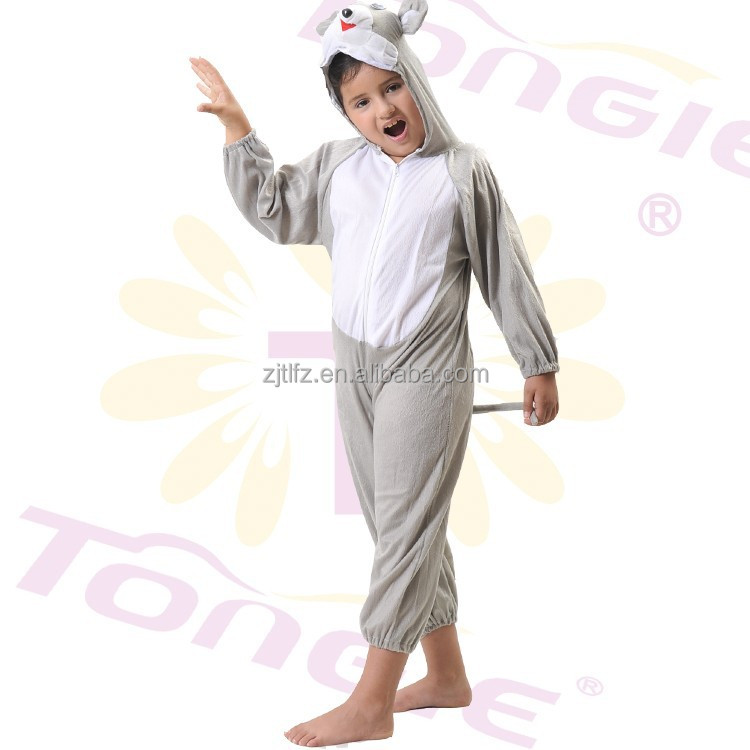 High quality short floss kids dog anime cosplay jumpsuit costume for sale