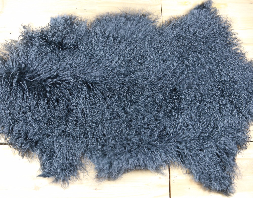 Mongolian Lamb Fur Rug Tibetan Lambskin Pelts For Sofa Chair Home Decor Interior Design Pelt