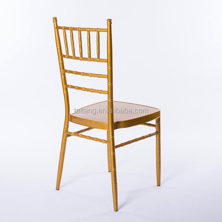 Wholesale Standard Size Metal Chiavari Chair Restaurant