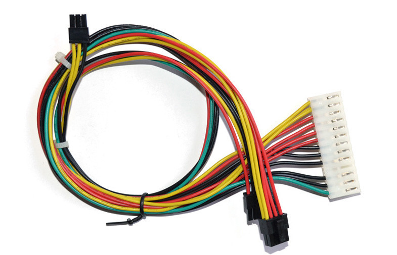 custom 6 pin female to 8 pin male connector faston terminal wire custom 6 pin female to 8 pin male connector faston terminal wire harness