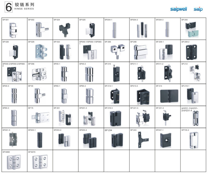 Saipsaipwell New Product High Quality Euro Cylinder Lock Cabinet