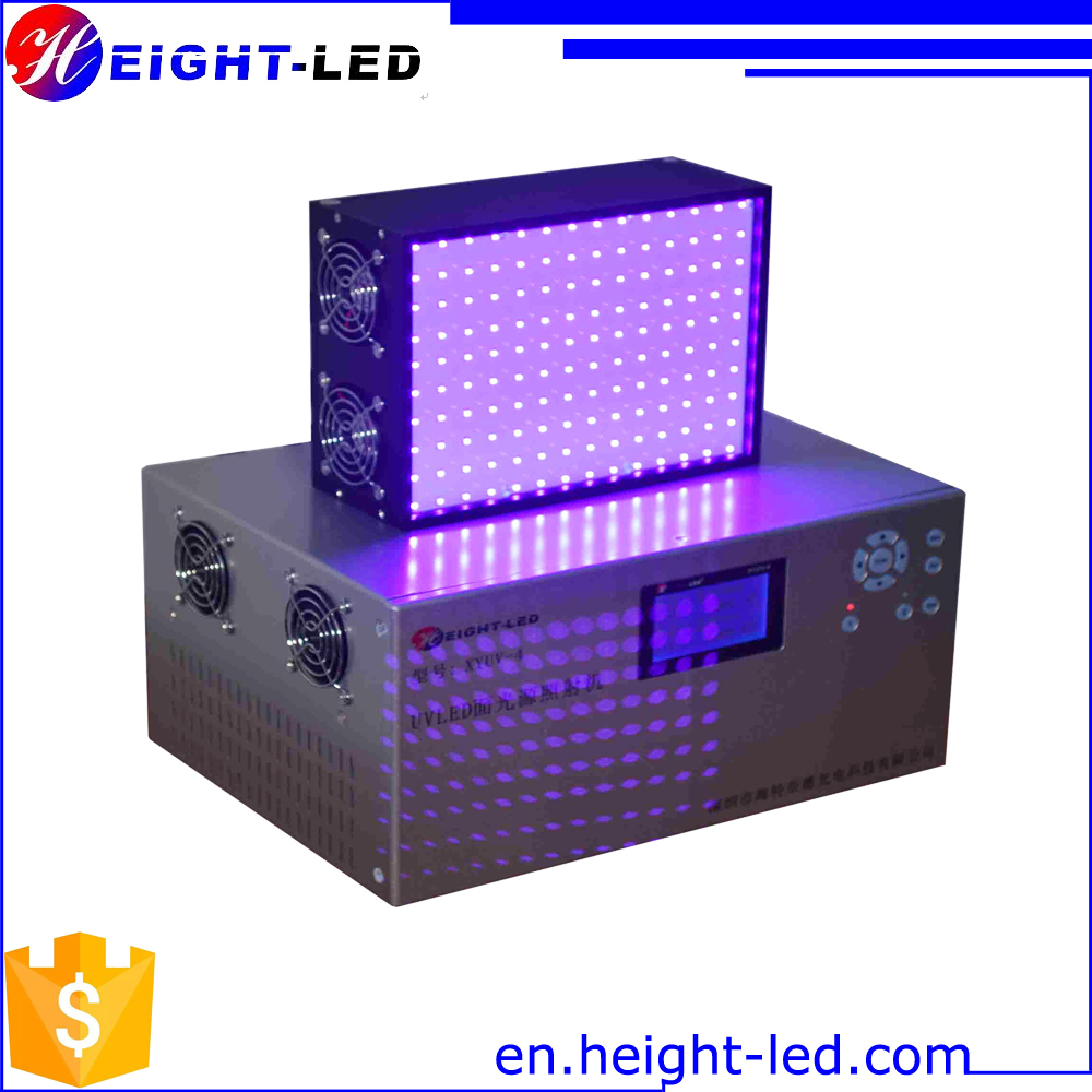 LED UV area curing system 365nm385nm395nm405nm