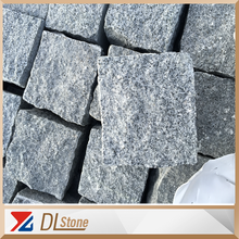G654 granite cobble stone ,Natural Split Top or Flamed Surface and other sawn cut