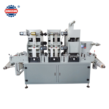 MYG320 Holographic security label hot stamping die cutting machine for sale