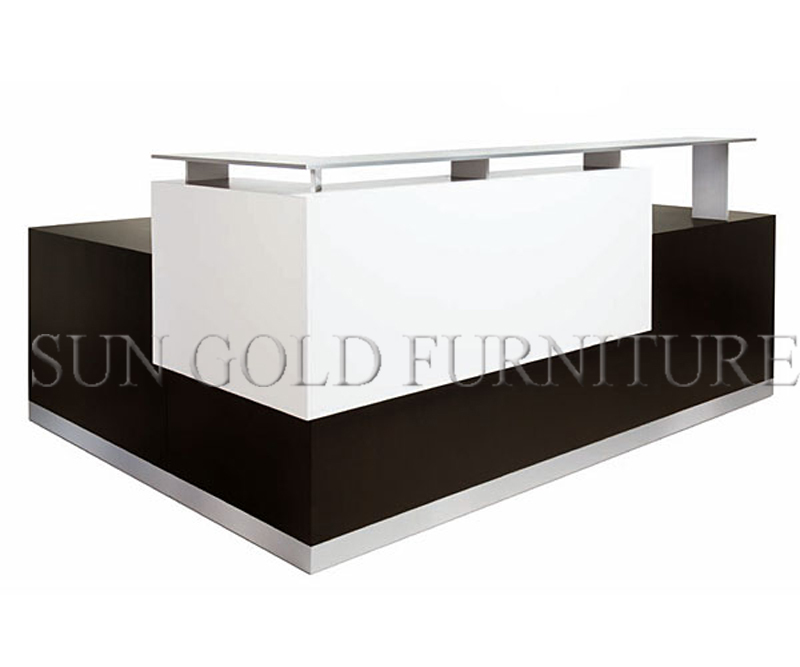 High End Modern Counter Front Desk Modular Used Salon
