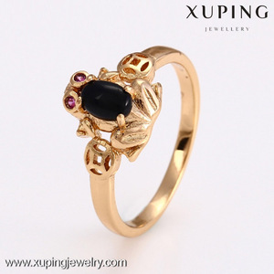 12691 Fashion high quality cheap 18k gold color muslim ring