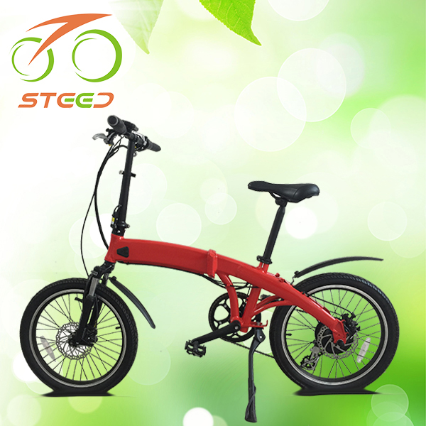 20inch size electric city bike EN15194 for lady green power