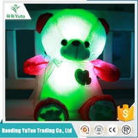 Buy Light up teddy bear plush toy in China on Alibaba.com