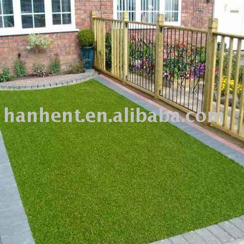 Hierba sint tica patio c sped artificial c sped - Suelo hierba artificial ...