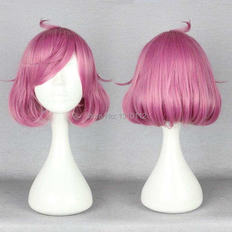 Аниме Noragami знаки эбису кофуку косплей парик роза розовый короткая вьющийся парики косплей мату купить