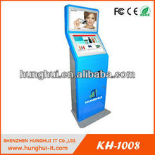 Indoor Advertising Dual Touch Screen Kiosk Stalls For Information Shows/Kiosk Machine
