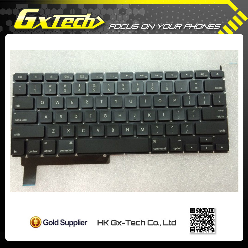 "Tested laptop Keyboard For Apple Macbook Pro 15"" Unibody A1286 FR French clavier Version with Backlit 2009 2010 20112012"