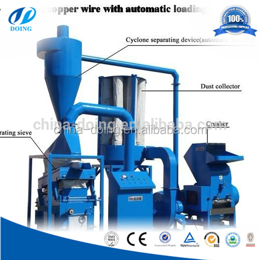 2015 New CE Double Loop Wire Stripping Machine