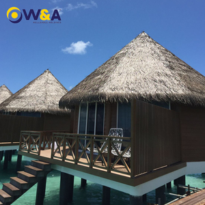 (WA-160824)Luxury Prefab Villas Building at Hotel Beach Villa with Bathroom Maldives