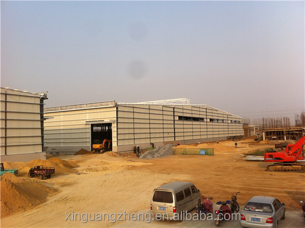 Welding H steel structure turnkey warehouse