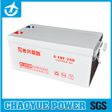 12V 240ah unique deep cycle battery for E-bike