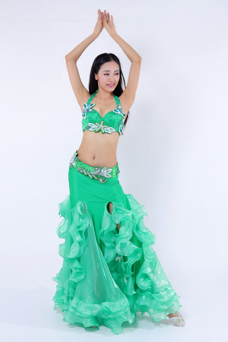 344b1970c GT-1075 Fancy beaded professional egyptian belly dance costumes on sale