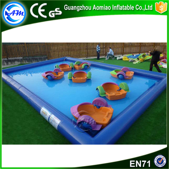 2017 hot largest custom inflatable lap pool floating toys for sale