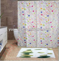 periodic table of chemical element shower curtain colorful dot design printed shower curtains