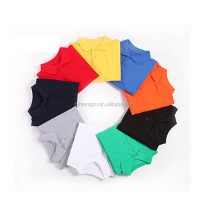 Modern style simple design mens short sleeve polo shirt with many colors
