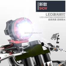 CNC Aluminum Motorcycle Accessories Led Motorcycle Lighting\Round Condenser Led Assist Lamp\Ked Work Lights Searchlight