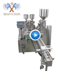 Bespacker automatic rotary type granule powder liquid paste tray cup filling and sealing machine